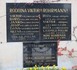 Vera <i>Rohrmann</i> M�ller