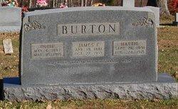 Ollie <i>Carver</i> Burton