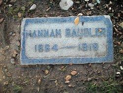 Hannah Baudler