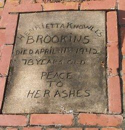 Henrietta <i>Knowles</i> Brookins