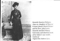 Amanda America <i>Dickson</i> Toomer