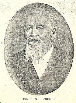 Dr George Madre Burdett