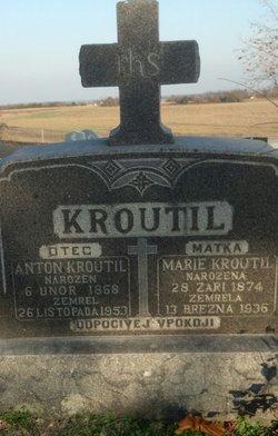 Marie <i>Vodicka</i> Kroutil