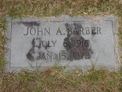 John Alexander Barber