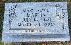 Mary Alyce Martin