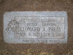 Leonard A Pruss