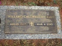 Willard <i>Caldwell</i> Bickley