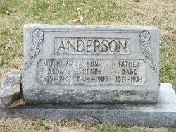 Alda <i>Martin</i> Anderson