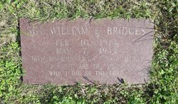 Sgt William Evans Bridges