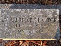 Dr Alfred Burwell Claytor