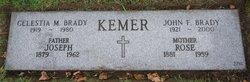 Celestia <i>Kemer</i> Brady