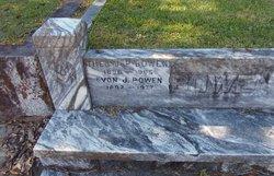 Evon J Bowen, Sr