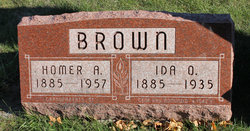 Ida Olive Ollie <i>Chambers</i> Brown