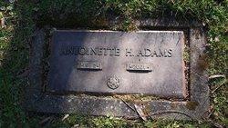 Antionette <i>Howland</i> Adams