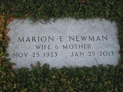 Marion Elaine <i>Tyler</i> Newman