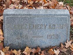 George Emery Adams