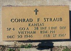 Spec Conrad Francis Straub