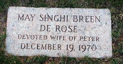 May Singhi <i>Breen</i> DeRose
