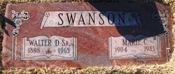 Marie Christine <i>Christensen</i> Swanson