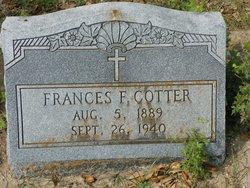 Frances Florence <i>Ludwig</i> Cotter