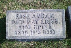 Rose <i>Epstein</i> Amram