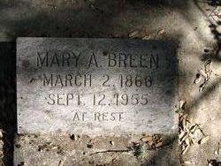 Mary A Breen
