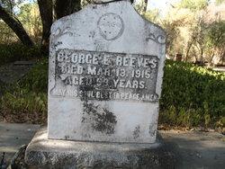 George E Reeves