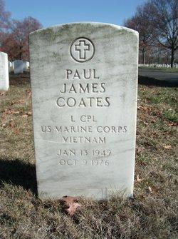LCpl Paul James Coates