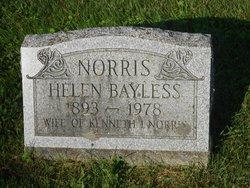 Helen K <i>Bayless</i> Norris