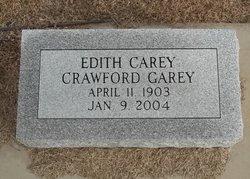Edith Carey <i>Crawford</i> Garey
