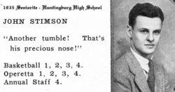 John Jacob Stimson Stimson, Sr.