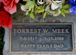 Forrest Woodrow Meek