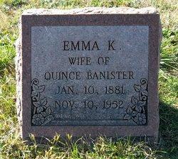Emma Katherine <i>Freeman</i> Banister