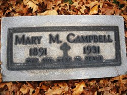 Mary Molly <i>Kelly</i> Campbell