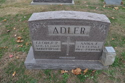 Anna E Adler