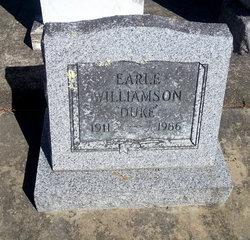 Earle Aaron Duke Williamson