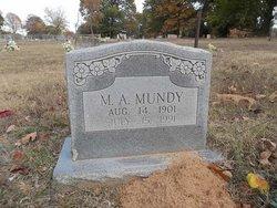 M A Mundy