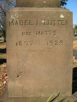 Mabel <i>Matts</i> Lutter