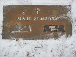 Mary M <i>Wynn</i> Drake