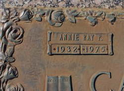 Annie Ray <i>Pritchett</i> Carey