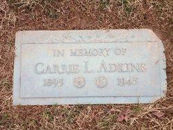 Carrie L Adkins