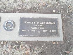 Stanley W Ackerman