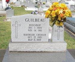 Berthilde <i>Credeur</i> Guilbeau