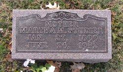 Martha Marie <i>Fiedler</i> Studier