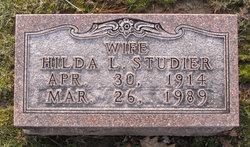 Hilda L <i>Wieters</i> Studier