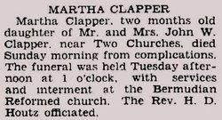 Martha Clapper