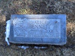 Alice C. <i>DeHaven</i> Bennett