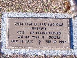 William B Alexander