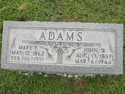 Mary F Adams