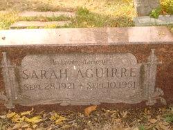 Sarah Aguirre